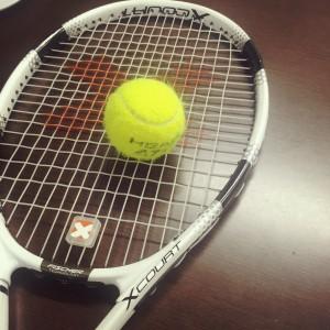 テニスコート営業終了のお知らせです・・・