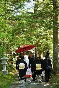 軽井沢で5月に結婚式挙げました!②